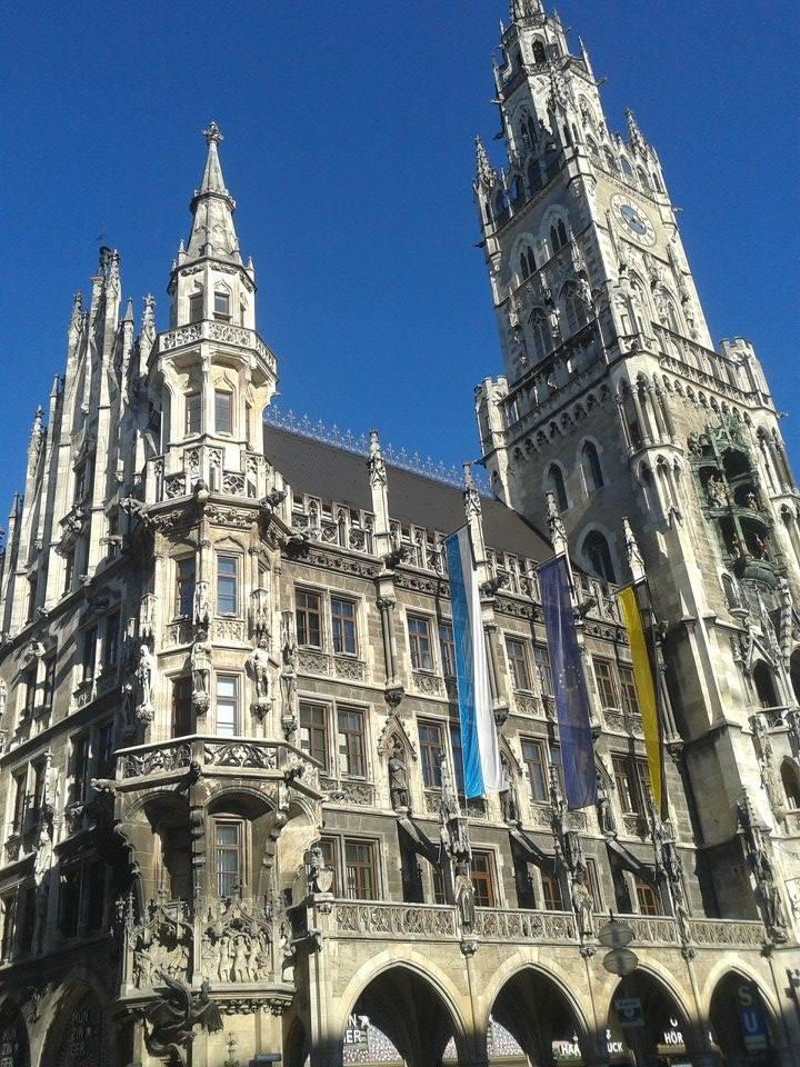Monachium Nowy Ratusz